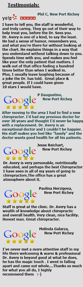 Avery Chiropractic - updated reviews